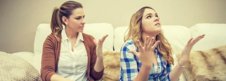 Entrevista psicológica con adolescentes