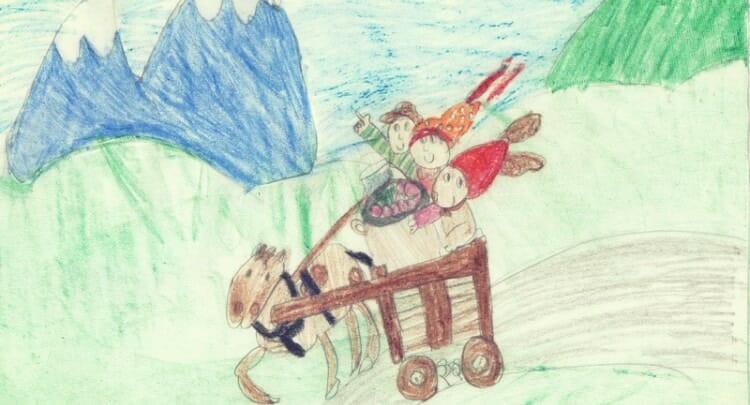 Que dibuja el nino en la etapa de realismo