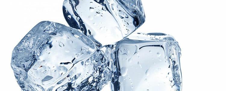 Eliminar el herpes labial con hielo