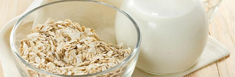 Exfoliante de avena y yogur