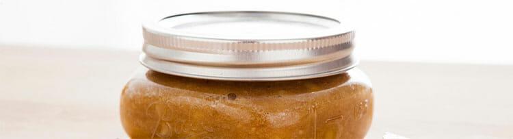 Exfoliante de azúcar y aceite de oliva