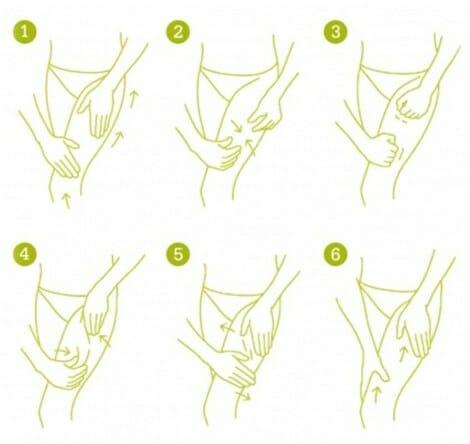 Técnicas de masaje para la celulitis