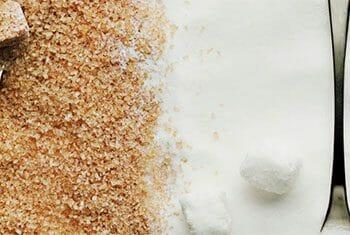 Azúcar moreno o azúcar blanco