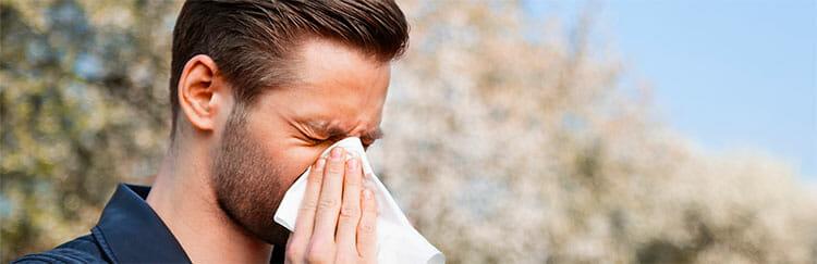 El clima y las afecciones alérgicas