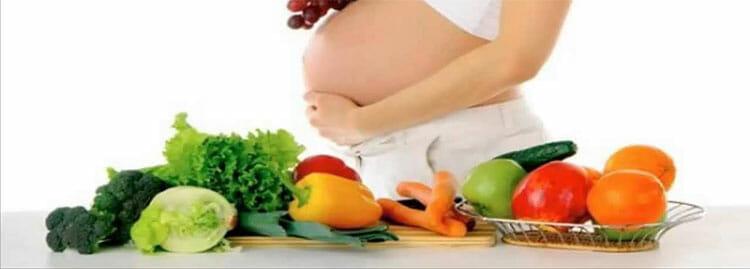 Una dieta variada es clave para una correcta alimentación en el embarazo