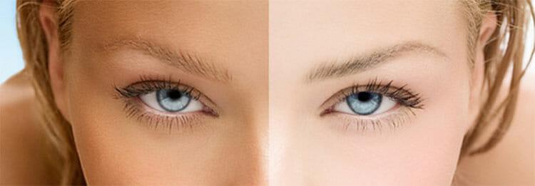 La melanina actúa como filtro solar natural de la piel.