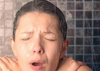 Ducharse con agua fría