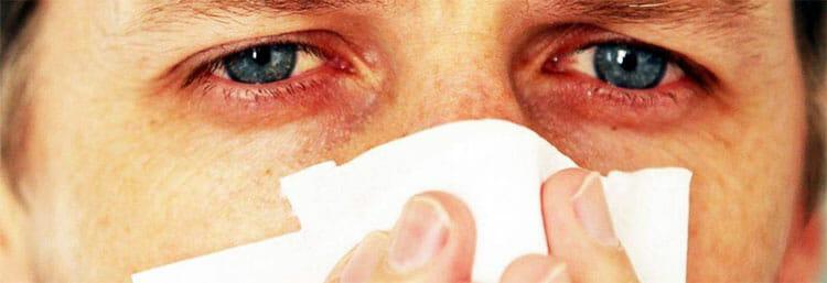Alergias y mocos en la garganta