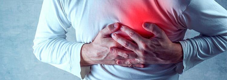 Dolor de brazos y ataque al corazón