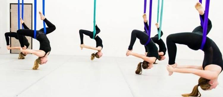 Fly Yoga: uno de los deportes de moda en 2018
