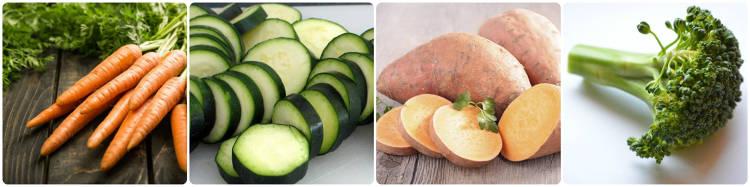 Verduras más saludables