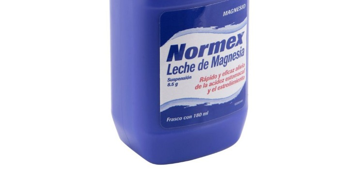 Beneficios leche magnesia