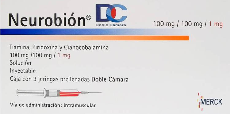 medicamento inyectado para desinflamar la garganta