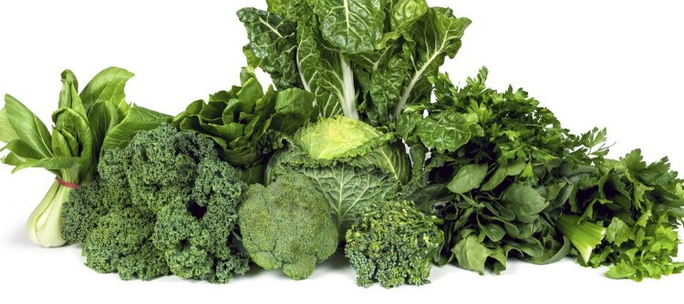 Verduras hojas verdes corazon