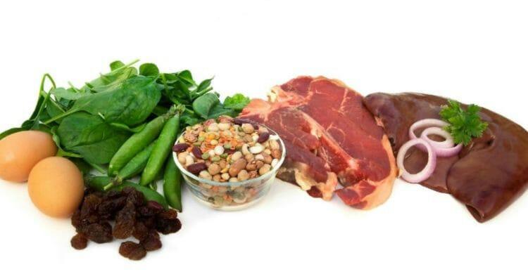 Dieta para combatir la anemia en adultos