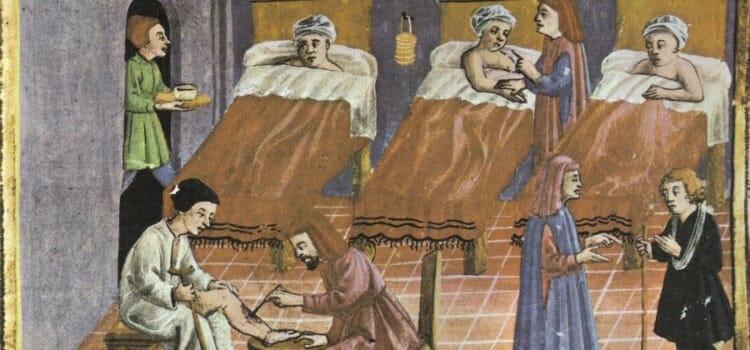 Hospital en la Edad Media