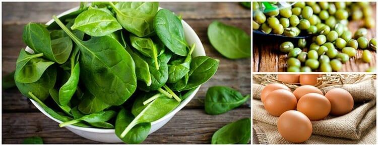 Mejores alimentos ricos en hierro