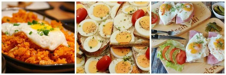 Recetas con huevos deliciosas