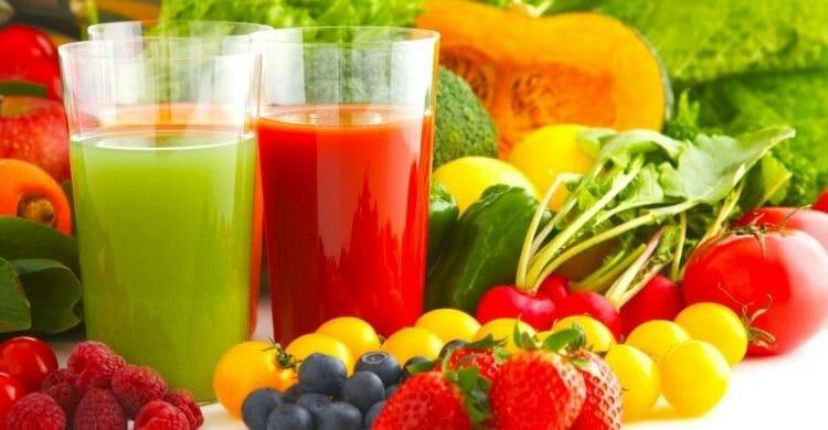Beneficios de la dieta de los colores