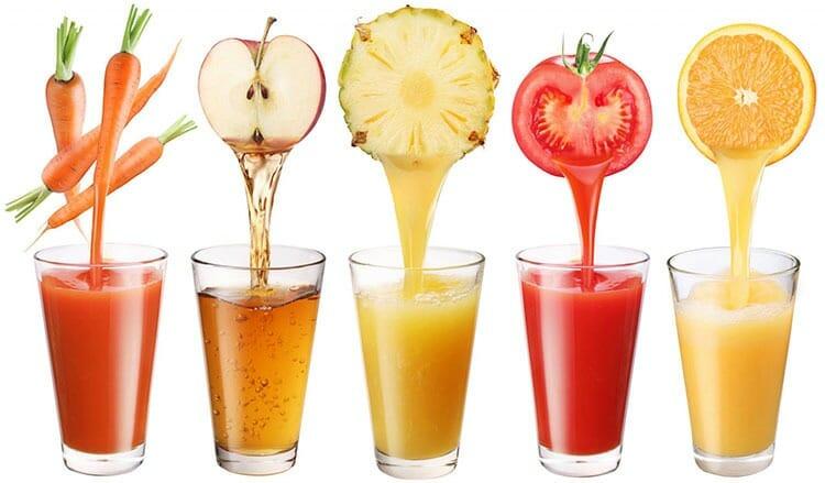 Beneficios para la salud de los jugos