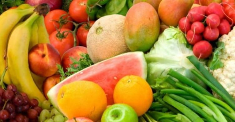 Reglas de la dieta de los colores