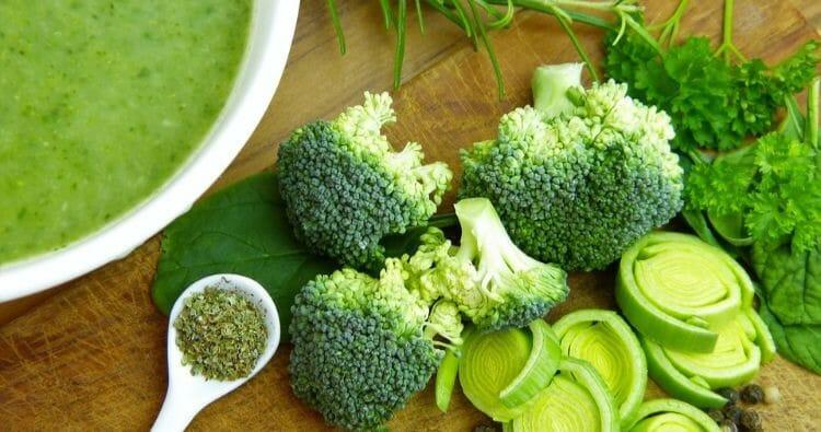 Verduras en la dieta coreana