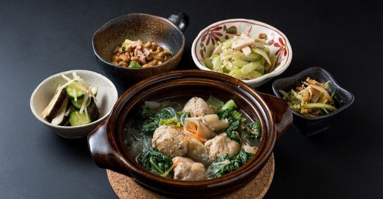 Alimentos de la dieta japonesa