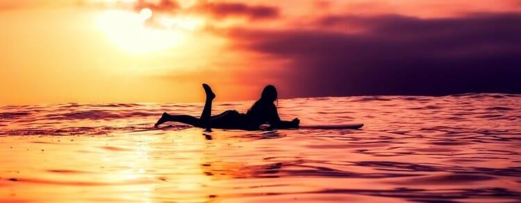 Beneficios del surf para la salud