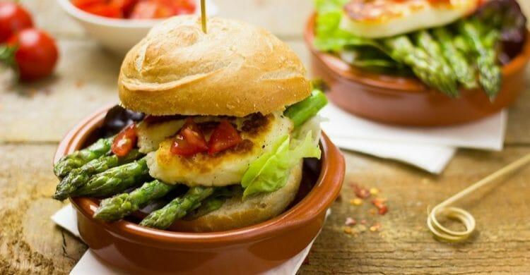 Beneficios de las hamburguesas vegetarianas