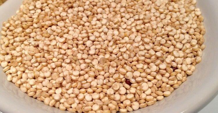 Mousse de quinoa con leche