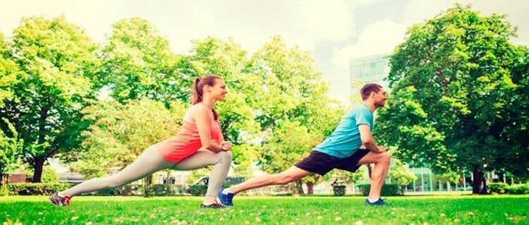 Practicar ejercicio al aire libre