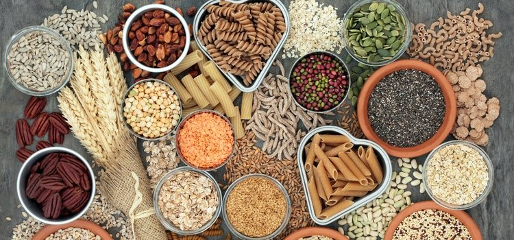 Metionina en legumbres y cereales