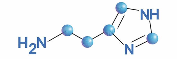Histamina: fórmula química
