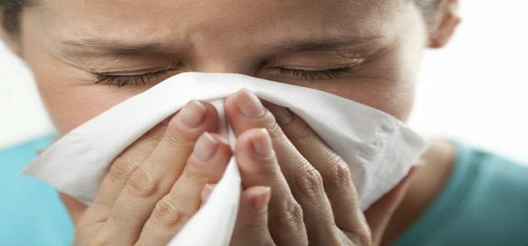 un Resfriado normal