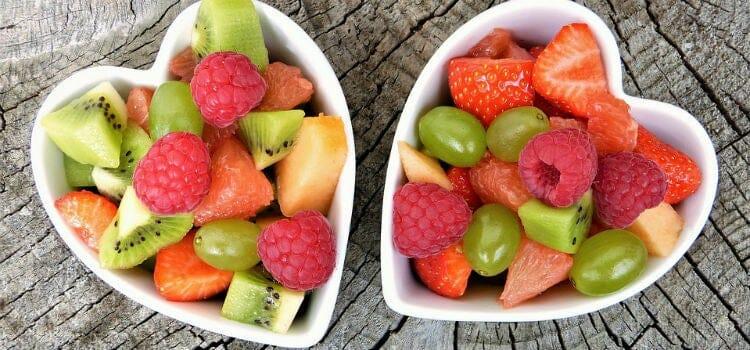 Alimentos sanos con índice glucémico
