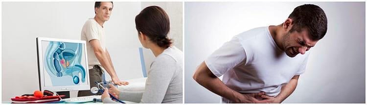 prostatitis maloliente y orina